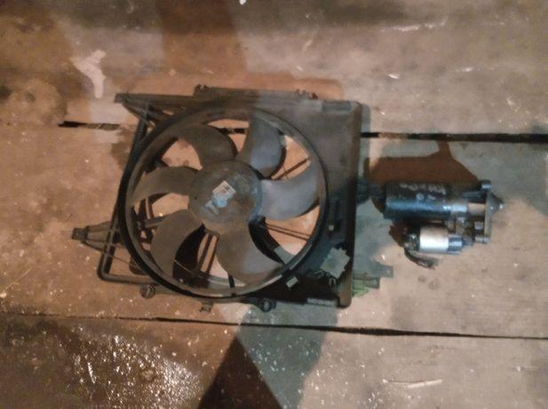 Стартер гідропідсилювач вентилятор Рено кенго,