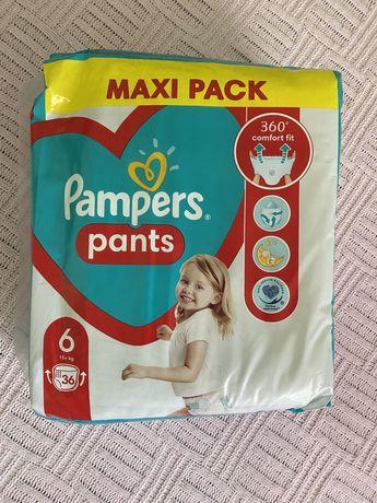 Pampers pants трусики 6