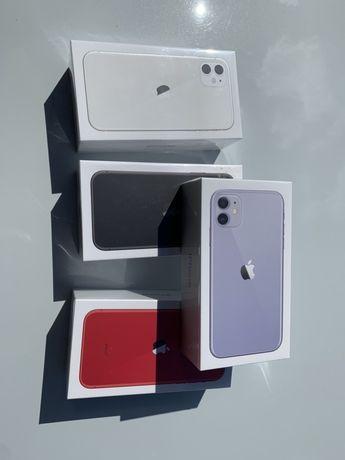 """APPLE IPHONE 11 64GB White/Black/Red/Purple """"Dąbrowiak"""" Teletorium!"""