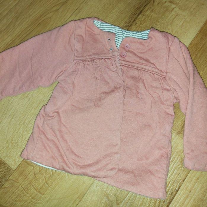 Кофта теплая для девочки 6-9мес Шостка - изображение 1
