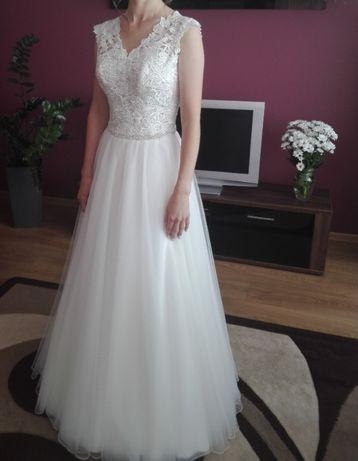 Wyjątkowa Suknia Ślubna rozmiar 34