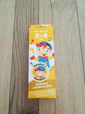 Zagadki CzuCzu dla dzieci w wieku 3-4 lata