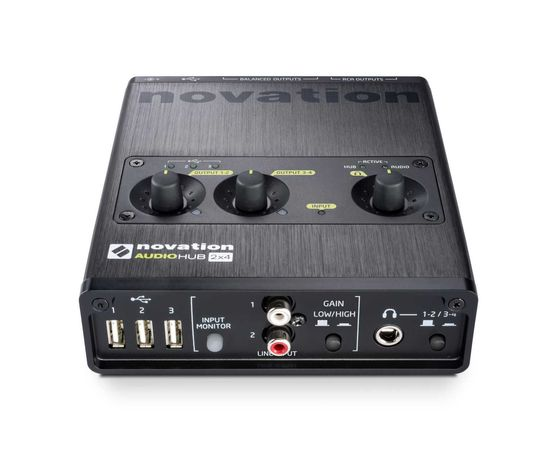 Novation Audio hub (como nova)