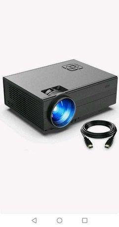 Проектор Видеопроектор FunLites Портативный мини-проектор 1080P 200 ''