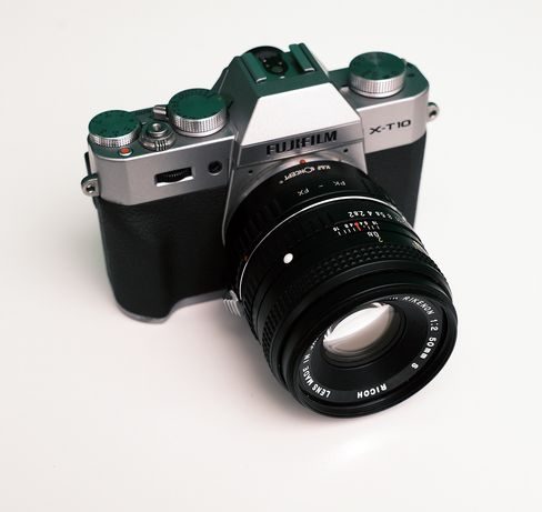 Fuji Fujifilm X-t10 + Rikenon 50mm f2