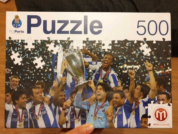 Puzzel FCP Campeão da Europa 2004