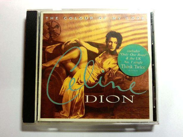 CD Celine Dion - The Colour Of My Life