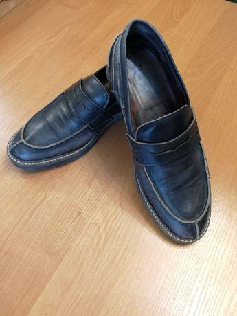 Туфли  осенние мужские лоферы