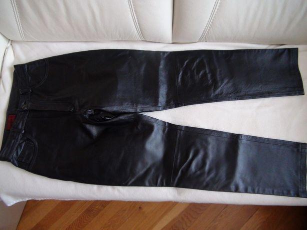 AVITANO spodnie na motor motocyklowe damskie 38 chopper skóra