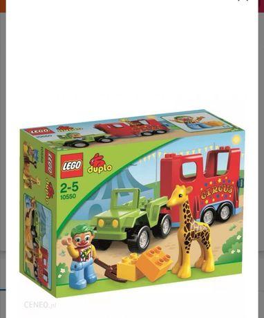 Lego duplo cyrk.