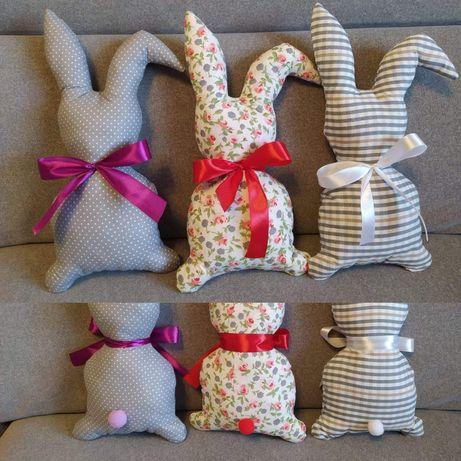 Zajączki Wielkanocne, króliczki, ozdoby świąteczne, Wielkanoc