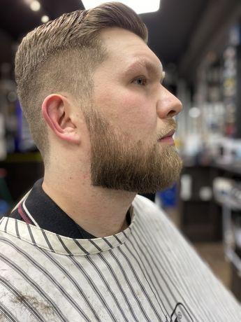 Мужская стрижка ,стрижка бороды,Барбер,детская стрижка
