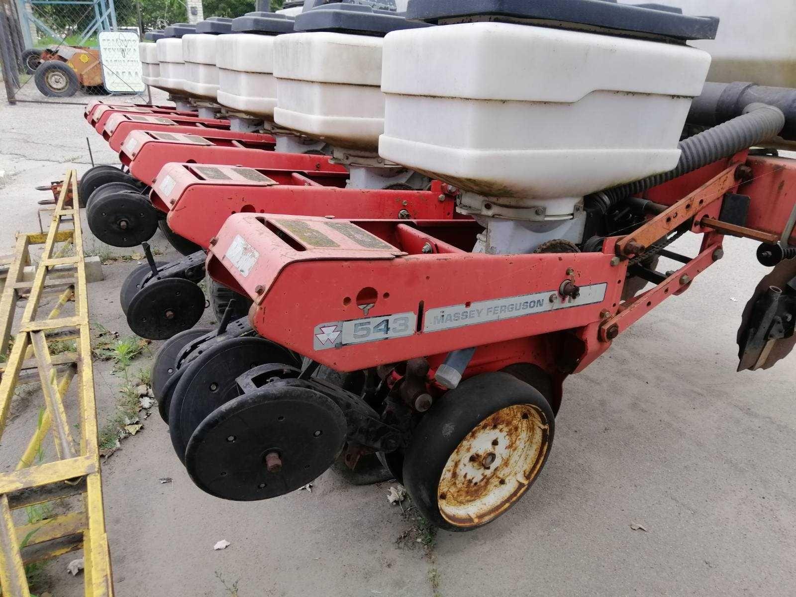 Сеялка пропашная Massey Ferguson 543 с удобрением для трактора МТЗ ХТЗ