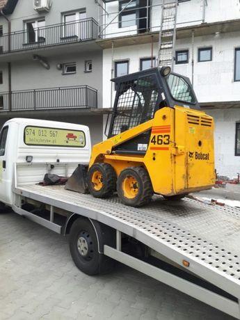 Pomoc Drogowa holowanie laweta autolaweta transport Tarnowskie Góry