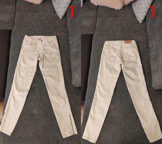 Mega paka ubrań spodnie 9 par r. 34 (XS)