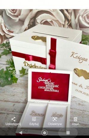 Skrzynka na koperty oraz pudełko na koperty