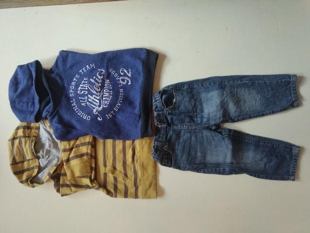 Толстовки и джинсы