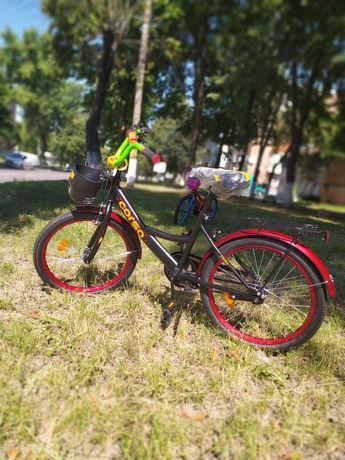 """Детский велосипед/Дитячий велосипед Corso 20"""" G20770 Black/Red"""