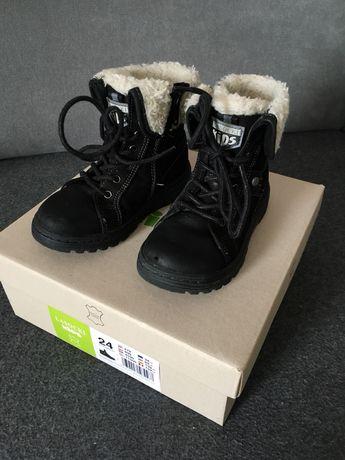 Buty trzewiki zimowe r. 24 CCC Lasocki