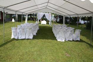 Namiot do wynajęcia , talerze, stoły ,krzesła , na chrzest komunię