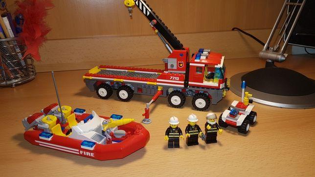 Lego City 7213 terenowy wóz strażacki 100% kompletny