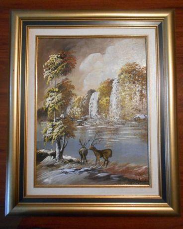 2 pinturas ORIGINAIS - pintor castelhano Fausto Palencia (já falecido)