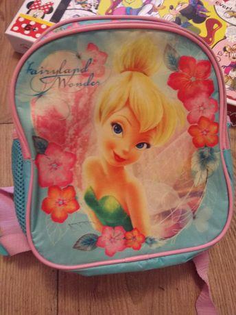 Plecak przedszkolny wycieczkowy Disney wróżka
