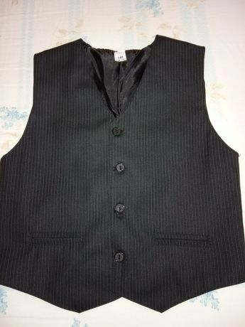 Garnitur kamizelka spodnie 140