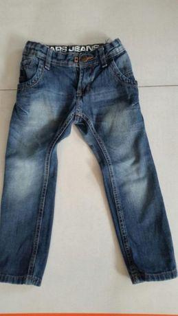Spodnie dżinsowe rozm 98
