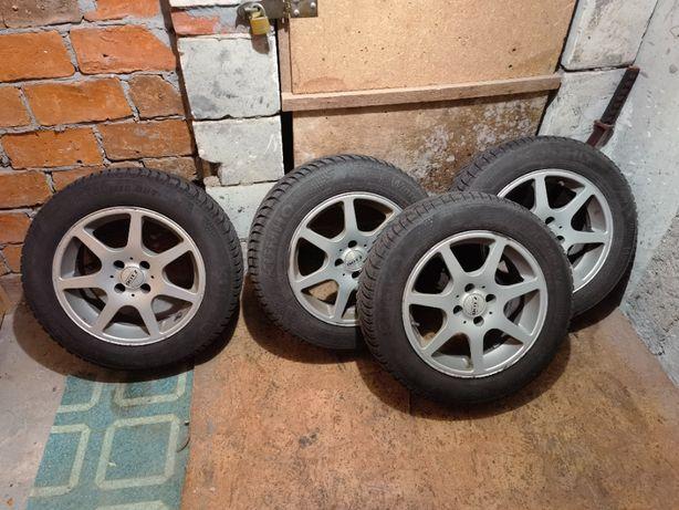 Opony zimowe Kumho WinterCraft WP51 185/65 R15 + felgi DOTZ 4x98