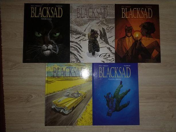 Blacksad Komplet tomy 1-5