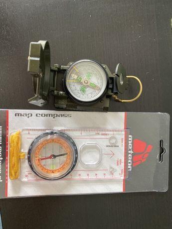 Linijka meteor i kompas