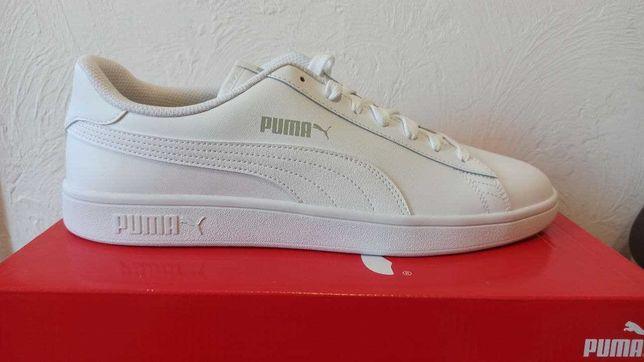 Белые кроссовки Puma Smash v2 L оригинал из США 45 Укр розмер 30.5 cm