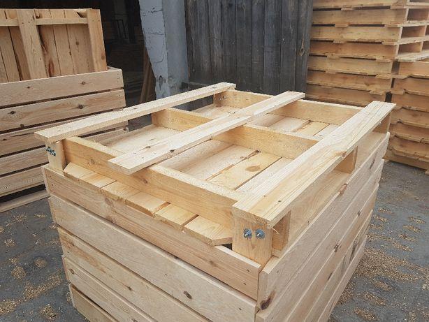 Skrzyniopalety Wieluń,opakowania drewniane łaszew,Wierzchlas,Drewmar .