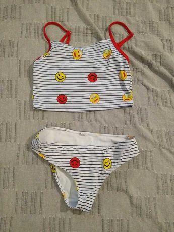 strój kąpielowy dwuczęściowy dla dziewczynki r. 158