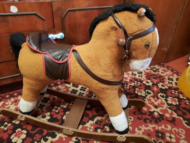 Лошадка коник гойдалка качалка