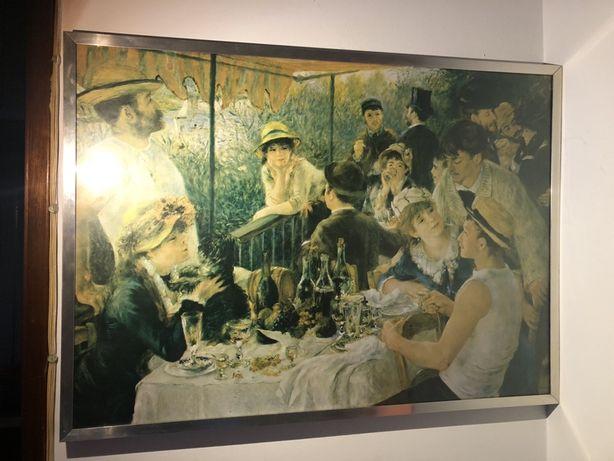 "Quadro Renoir ""almoço dos barqueiros """