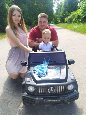 Дитячий автомобіль,Гелік майже новий користувались 2 міс
