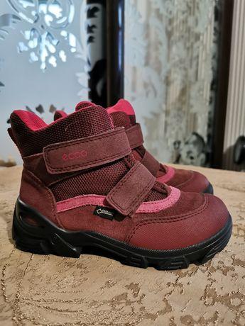 Ecco зимові черевики для дівчинки