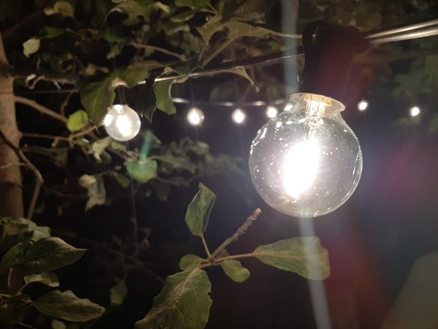 Гирлянда ретро 46 лед ламп