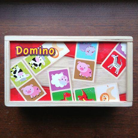 Domino obrazkowe dla dzieci (wiek 2+)