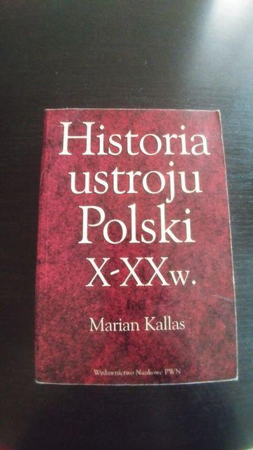 Historia ustroju Polski X-XXw. M.Kallas rok 1996