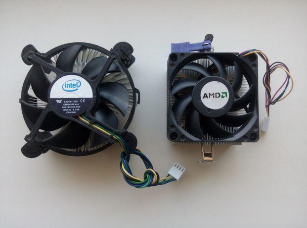 Продается Охлаждение Кулер + Радитор для Процессоров Intel и AMD
