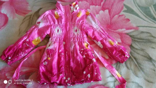 Куртка деми для девочек