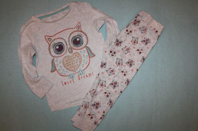 Милая котоновая пижама ф.F&F девочке 2/3года,отличное состояние