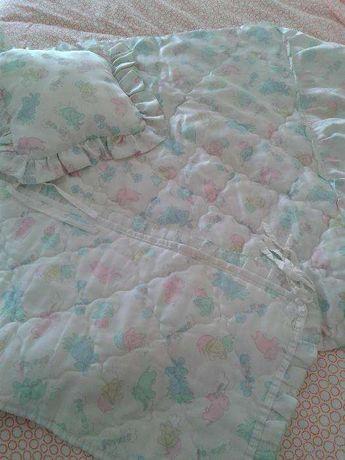 endredão para cama de grades
