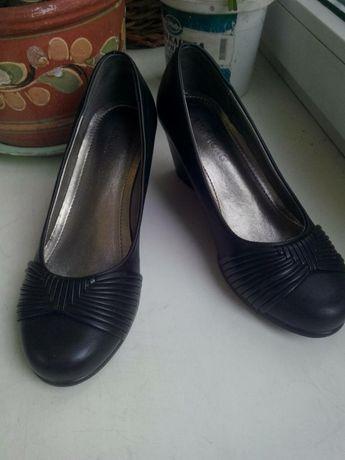 Туфли черные,36 размера