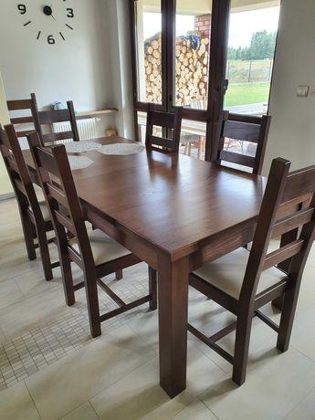 Stół Dębowy nowy nie używany
