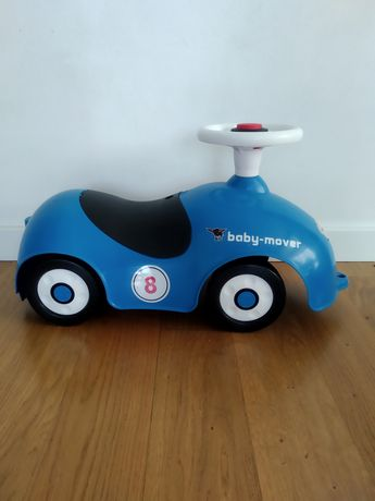 Jeździk Big Baby-mover odpychacz samochód dla dzieci niebieski