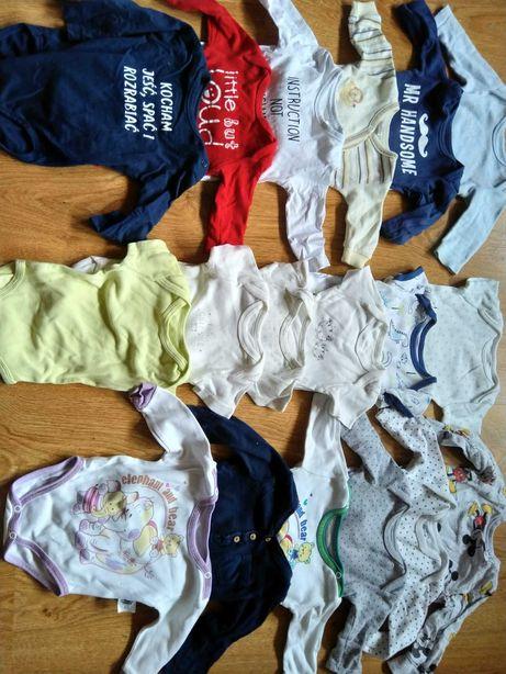 Komplet ubranek, pajacyk, koszulka, bodziak rozm 62